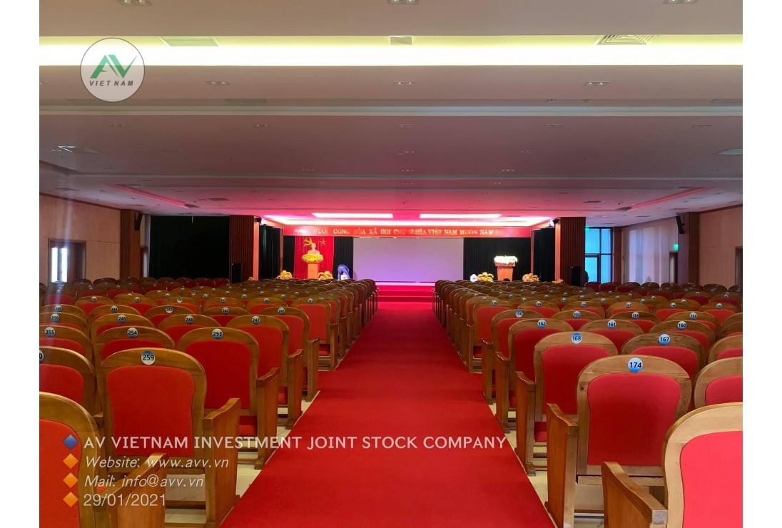 Hội trường TÂN THỊNH PLAZA - BẮC GIANG với Âm thanh CAF Audio - Ánh sáng AVL - Màn Hình LED AV Việt Nam cung cấp.