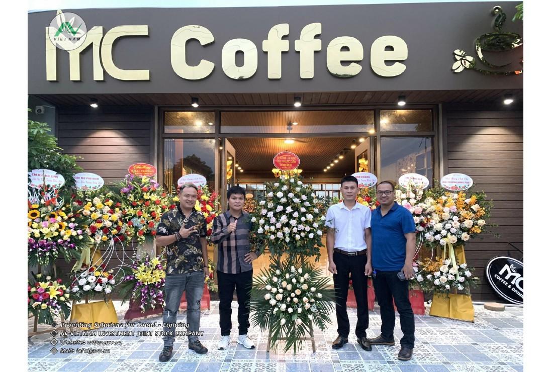 Bàn giao âm thanh CAF AUDIO - Nội thất đẹp cho MC Karaoke - Thường Tín, Hà Nội