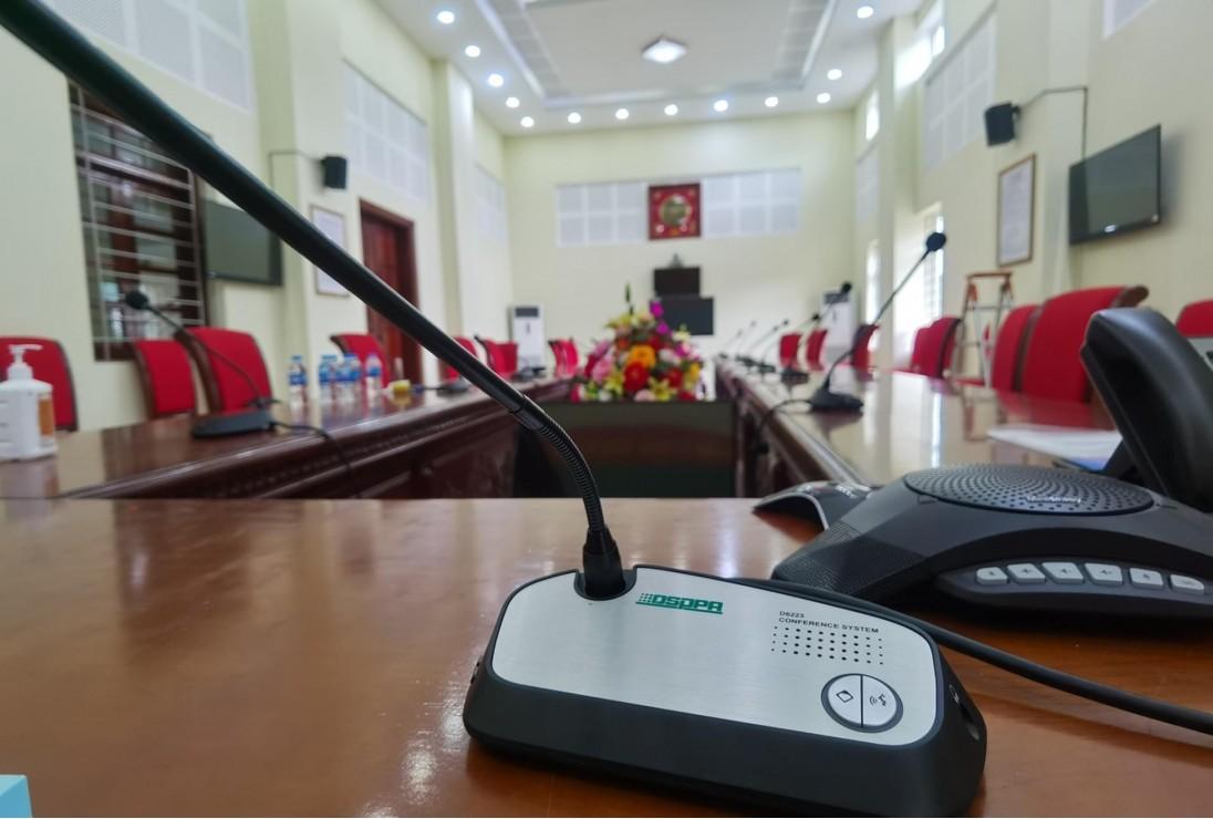 AV Việt Nam lắp đặt hệ thống âm thanh DSPPA cho sở chỉ huy sư đoàn BB 346