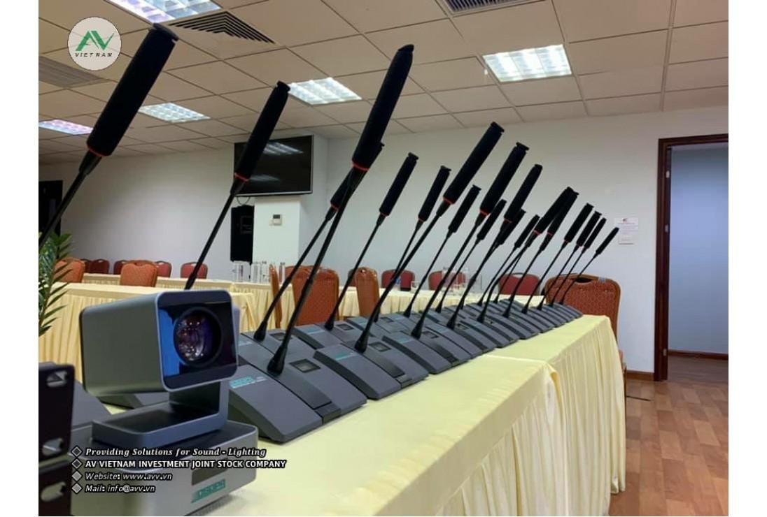 Bàn giao âm thanh hội nghị số DSPPA tại Tổng Công Ty Điện Lực