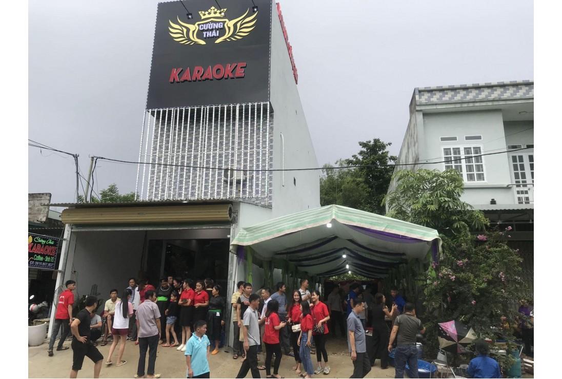 Khai trương KARAOKE CƯỜNG THÁI - BẮC QUANG - HÀ GIANG đồng bộ CAF AUDIO