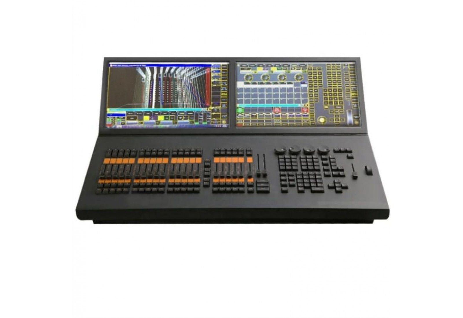 Grandma 2 Lighting Controller with 2 Touch Displays for DMX Console (EL-MA2 BLACK HORSE)