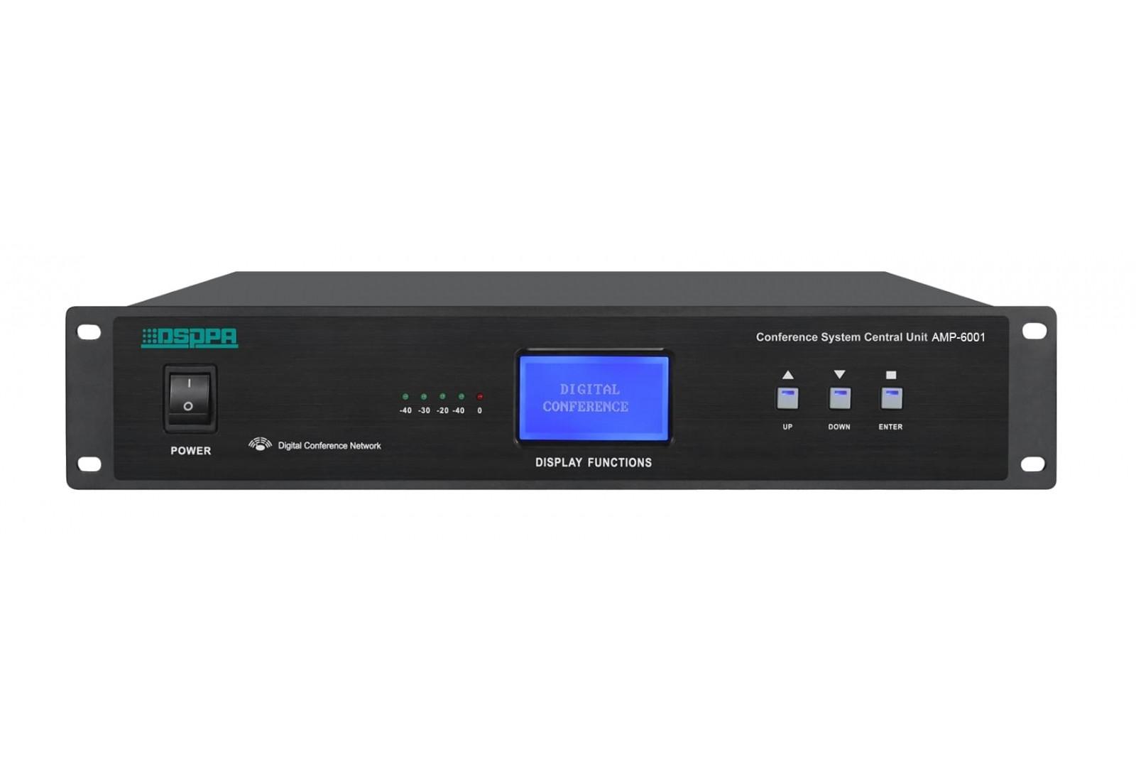 DSPPA AMP-6001 - Bộ điều khiển hệ thống hội nghị kỹ thuật số