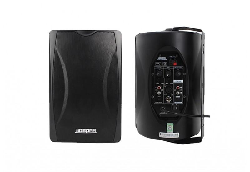 DSPPA DSP6606R - 2x30W loa liền công suất cùng với mic không dây