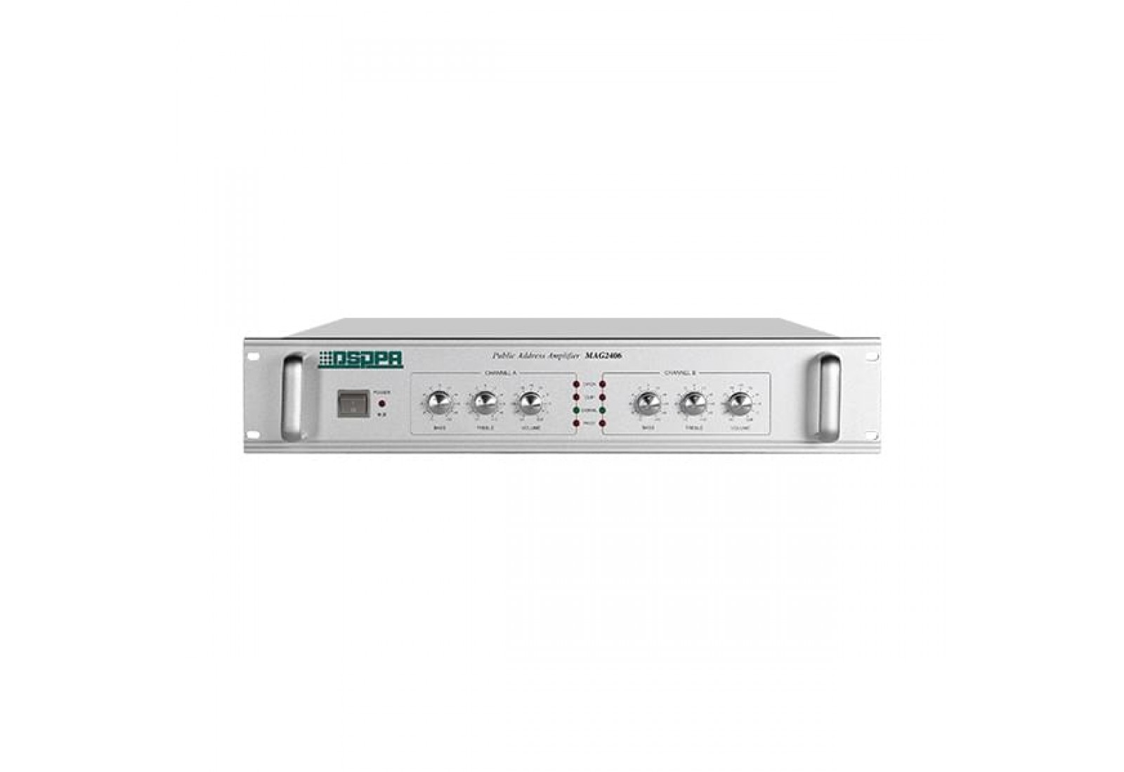 DSPPA MAG2406/MAG2412/MAG2425/MAG2435 Network Broadcasting Amplifier Without Latency