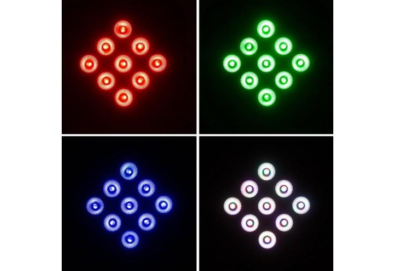 KZ- LED 9 Full color Par