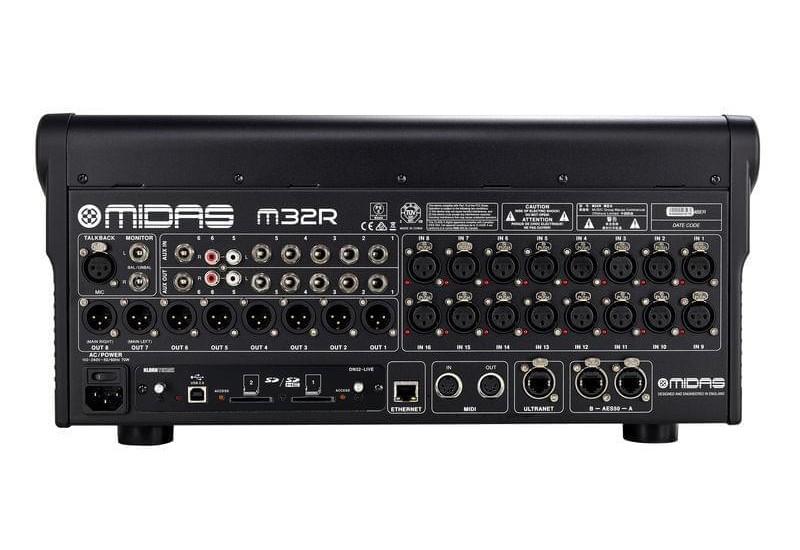 MIDAS M32R LIVE