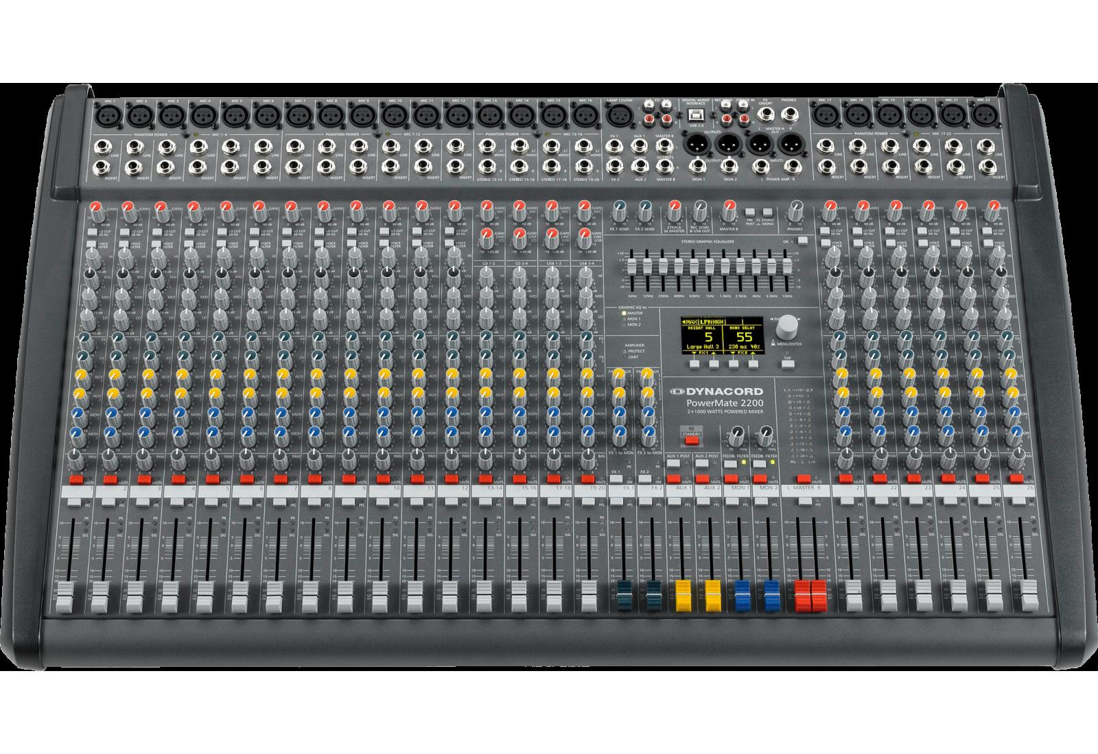 MIXER ANALOG DYNACORD POWERMATE 2200-3