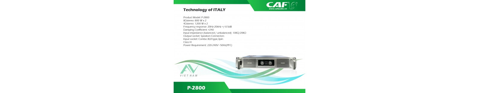 CAF P 2800