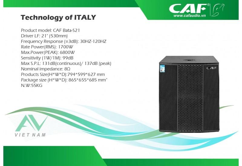 CAF Bata-S21
