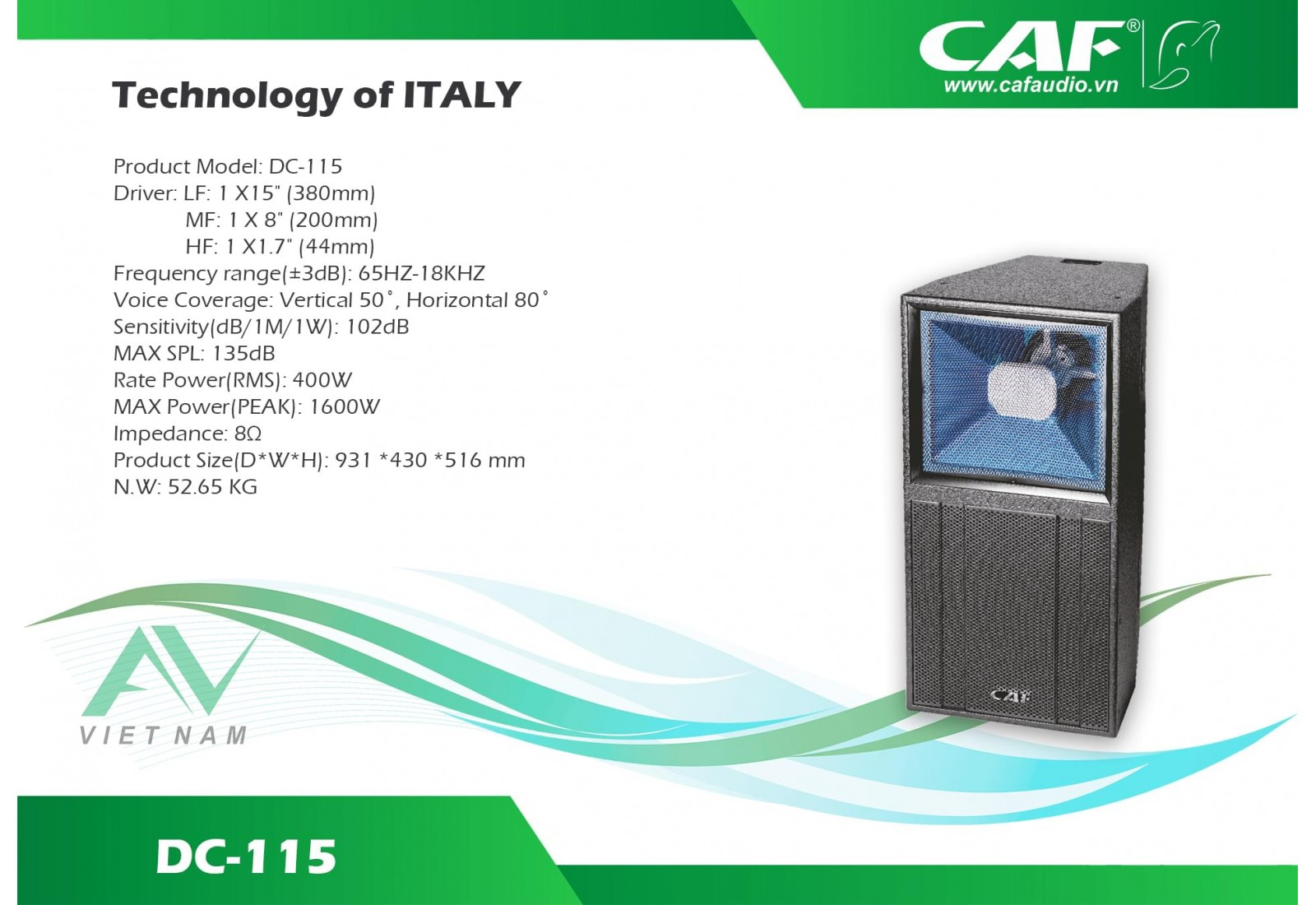 CAF DC 115