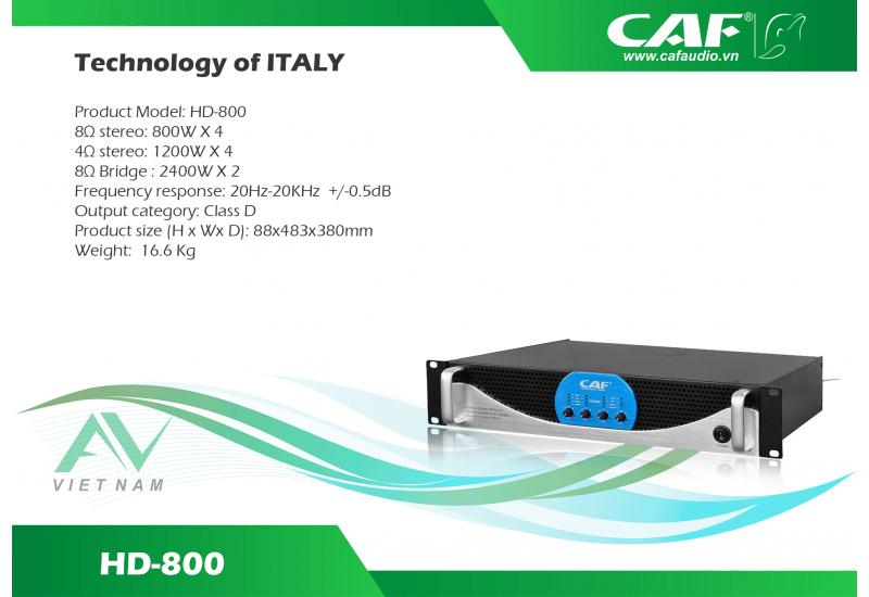 CAF HD 800