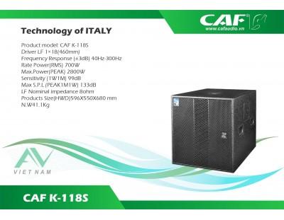 CAF K-118S