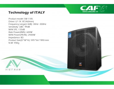 CAF SW-118S