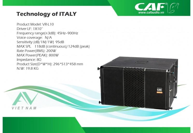 CAF VR L-10