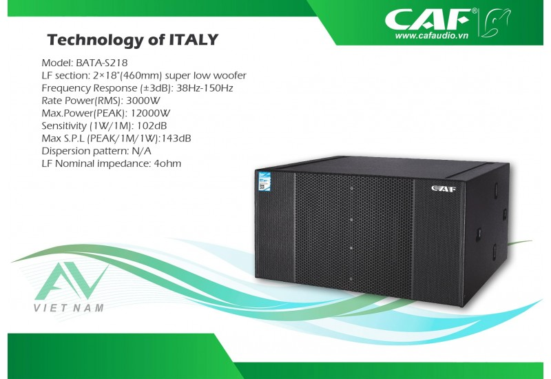 CAF BATA S-218
