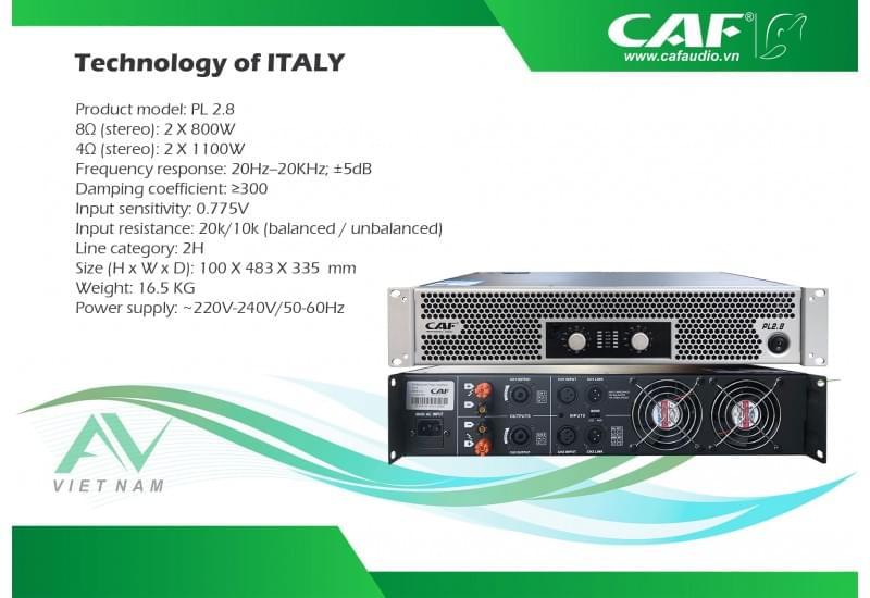CAF PL 2.8