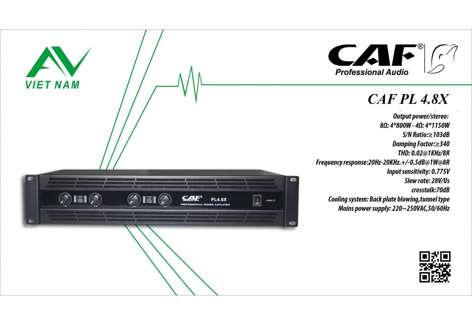CAF PL 4.8X