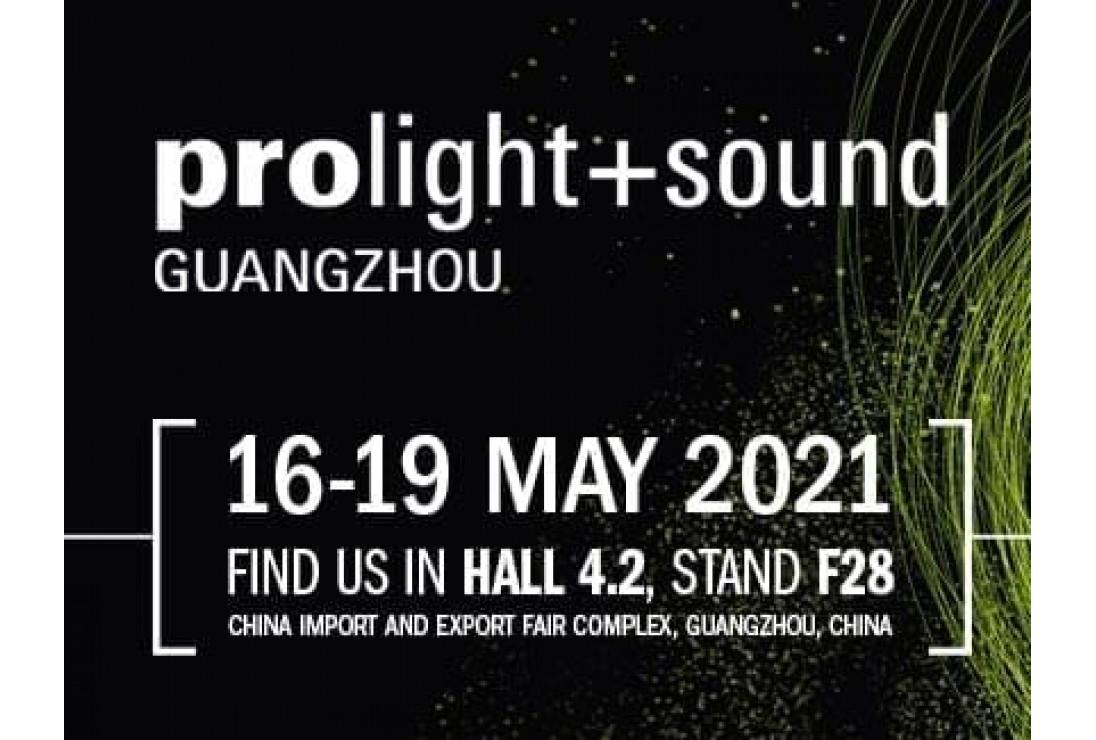 CAF AUDIO tại triểm lãm âm thanh quốc tế 2021 - Prolight + Sound Guangzhou 2021