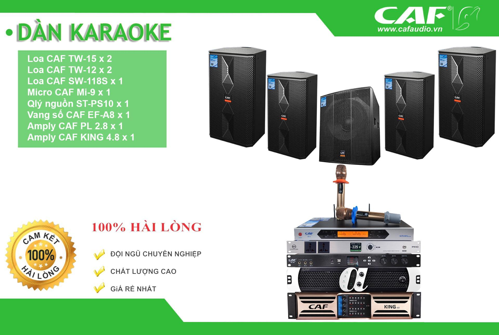 Dàn Karaoke Gia Đình CAF