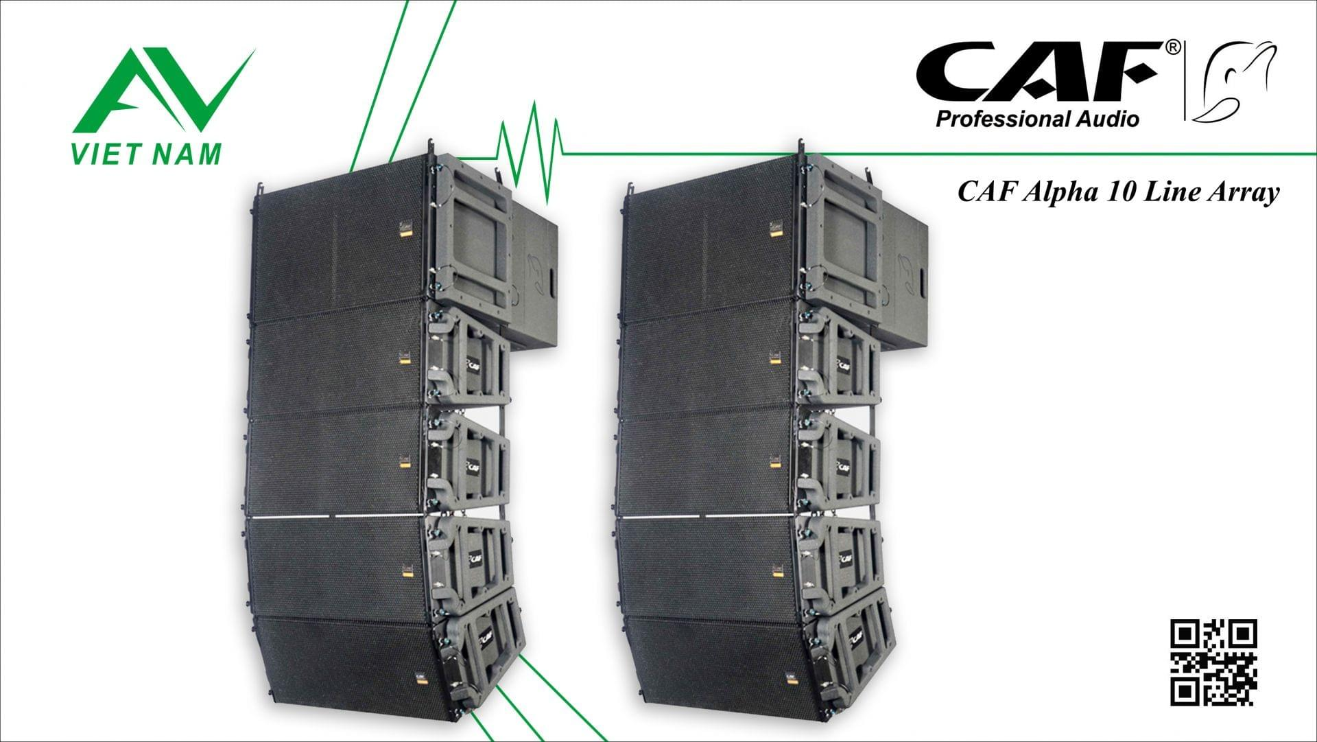 CAF NX-1210 Line Array System